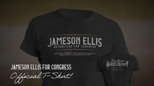 jameson ellis for congress official t-shirt